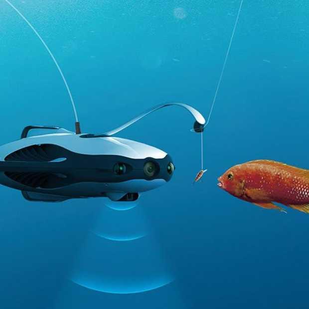 PowerRay Fishfinder: vissen met een drone