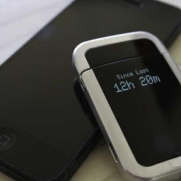 Quitbit Smart Lighter: de eerste smartphone gekoppelde aansteker die je helpt stoppen met roken!