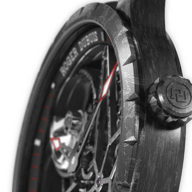 Roger Dubuis presenteert de Excalibur Automatic Skeleton Carbon