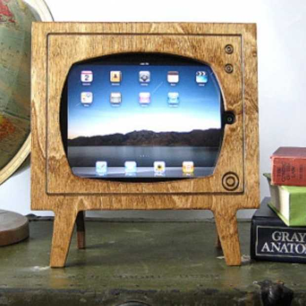 Retro iPad Dock aka Televisie
