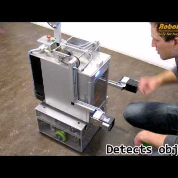 RoboFridge Promo (Walking Fridge)