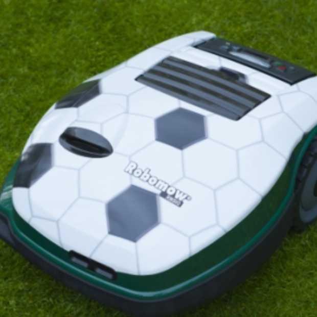 Robomow Sportzomer 2012 ‐ aan het gras kan het niet liggen!