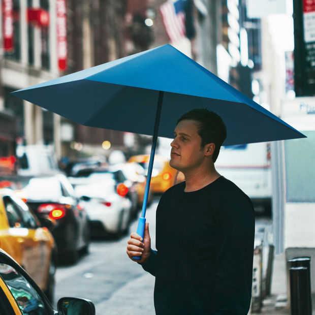 Maak kennis met de stijlvolste paraplu ooit: de Sa