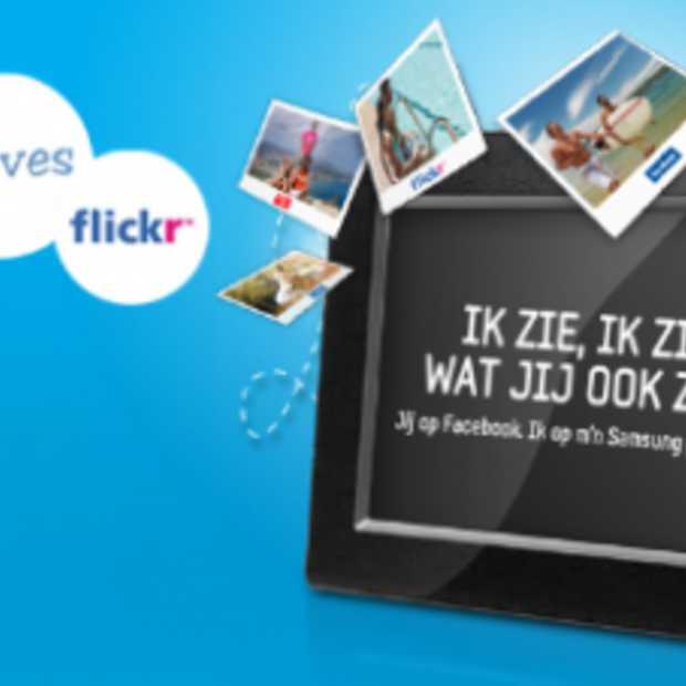 Samsung Fotolijst gekoppeld aan Hyves en Facebook