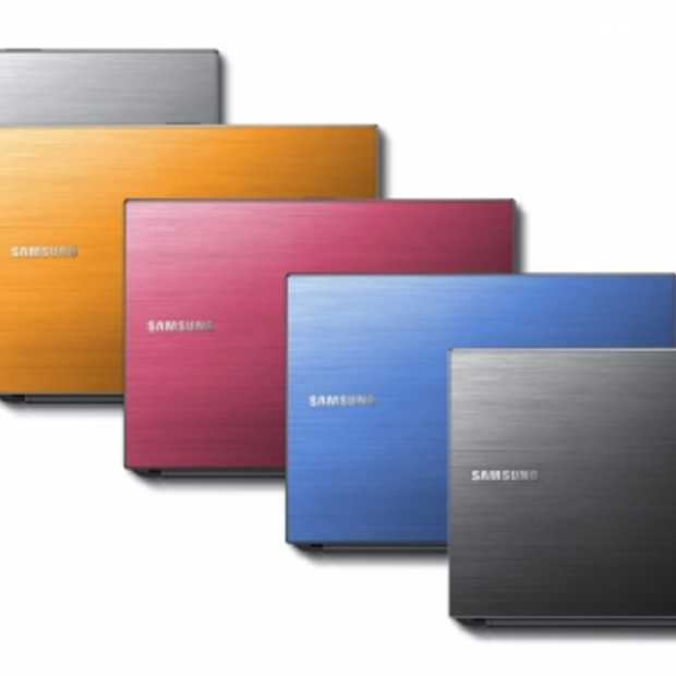 Samsung lanceert stijlvolle generatie notebooks