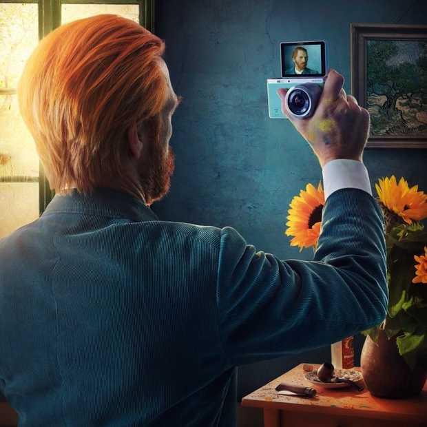 Geen selfies maar self-portraits