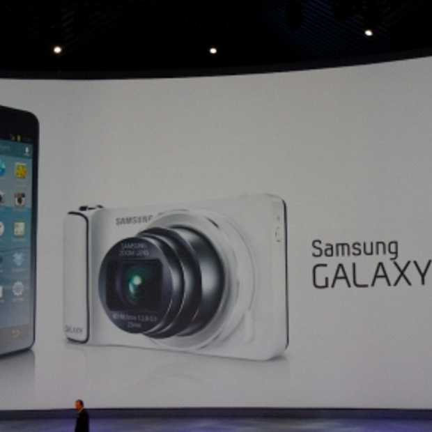 Samsung presenteert Galaxy Camera