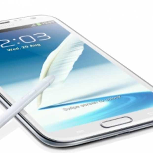 Samsung presenteert Galaxy Note II