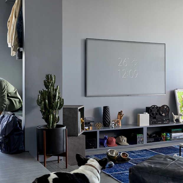 Samsung QLED TV is ook prachtig als 'ie uit staat met Ambient Mode