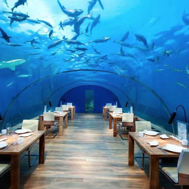 De 9 coolste bars en restaurants ter wereld