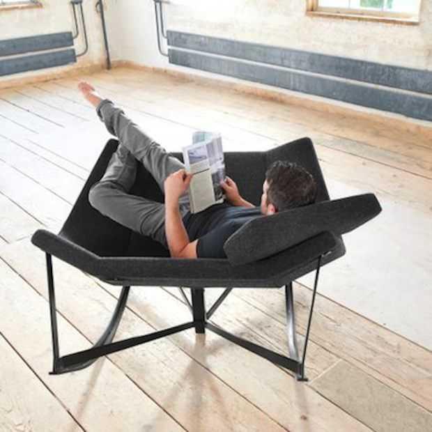 Deze schommelstoel is voor twee personen