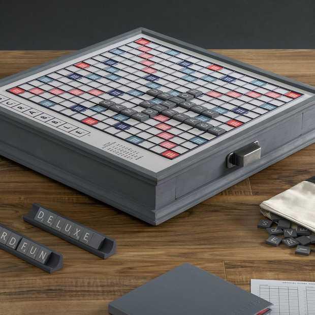 Deze stijlvolle versie van Scrabble wil je nu spelen