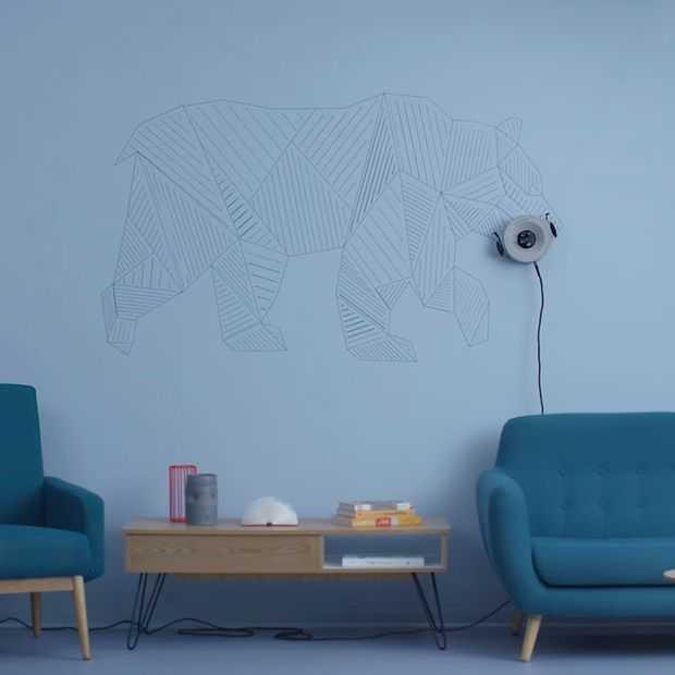 Scribit: de robot die elke dag op je muur tekent (en weghaalt)