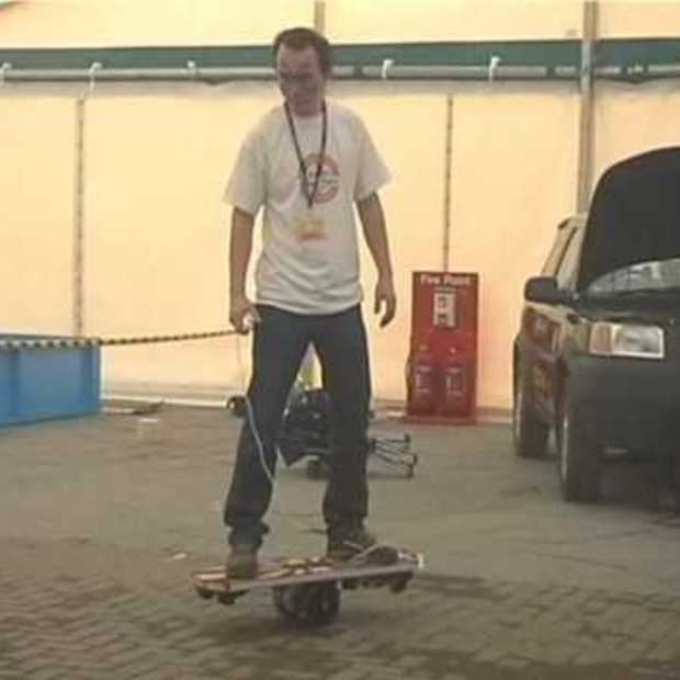 Self balancing electric skateboards: Makerfaire Newcastle 20