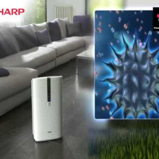 Sharp Air Purifier with Plasmacluster technology