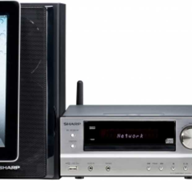 Sharp audiosysteem met Airplay