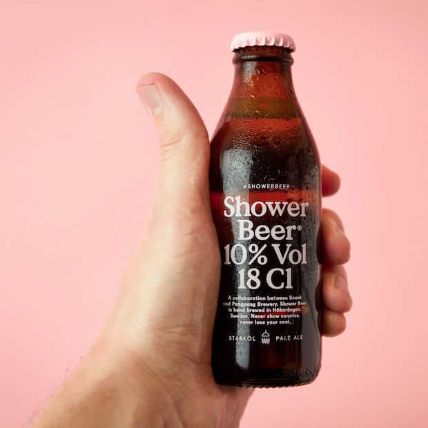 Shower Beer: speciaalbier en shampoo in één