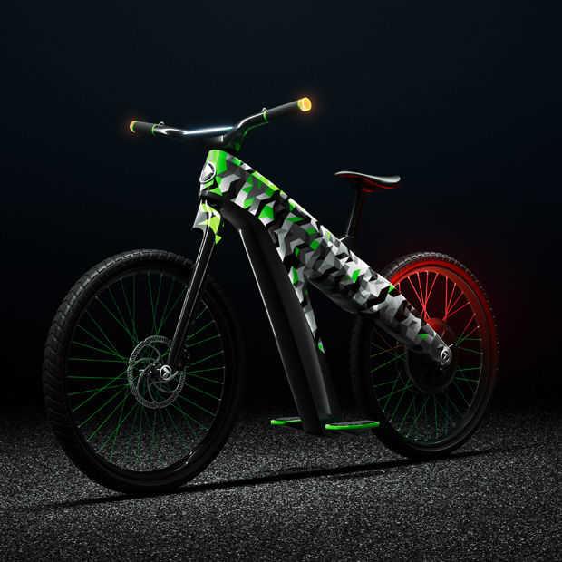 De nieuwe elektrische tweewieler van Skoda