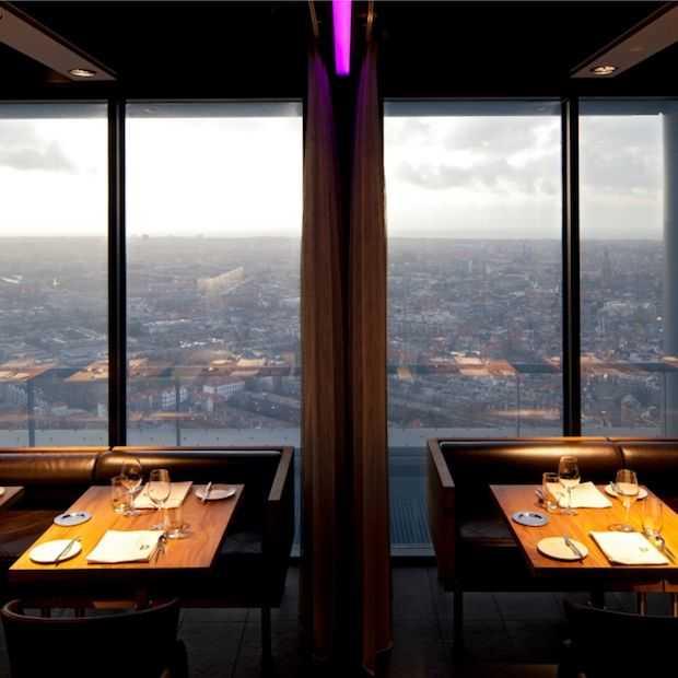 Hoogste skybar van Nederland opent haar deuren in Den Haag