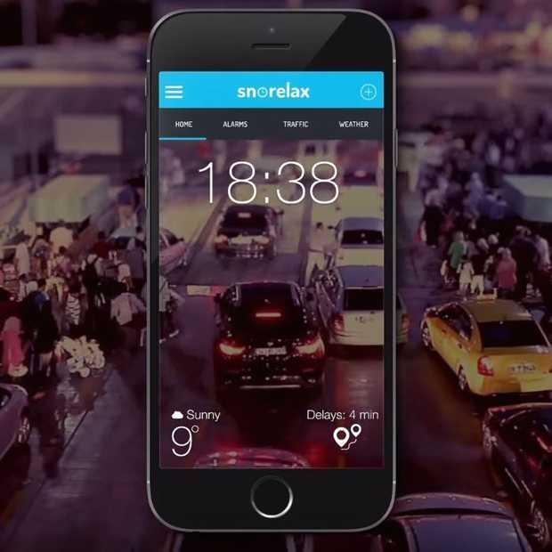Deze app maakt je eerder wakker wanneer er files staan