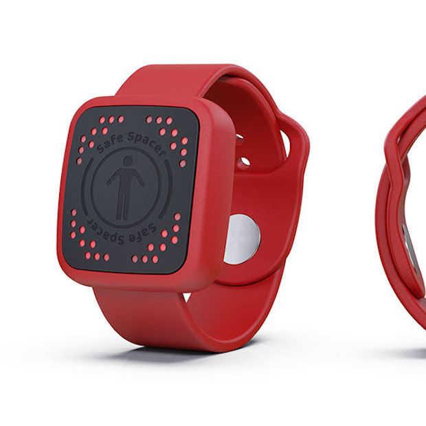 Is dit social distancing horloge iets voor jou?