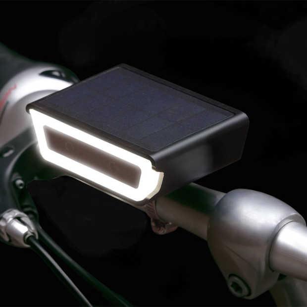 Rydon komt met nieuwe fietsverlichting op zonne-energie