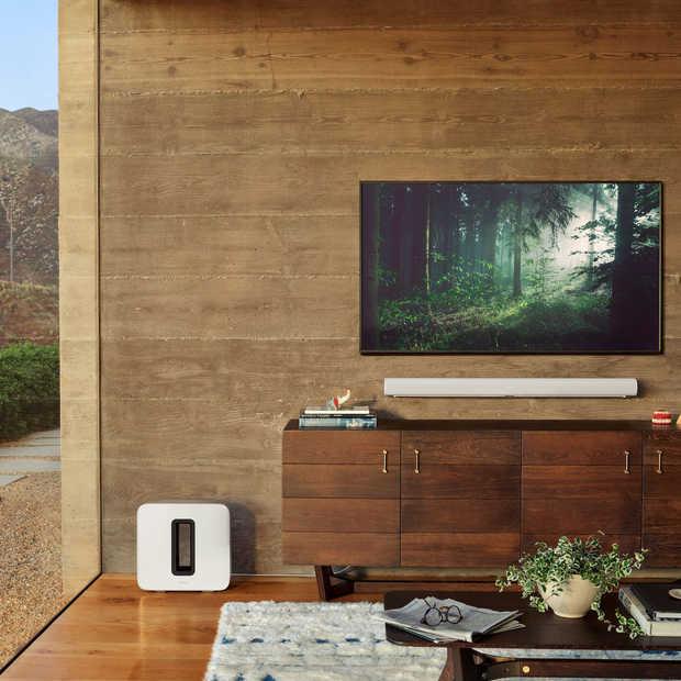 Maak kennis met de Sonos Arc, een stylish soundbar met geluid van bioscoopkwaliteit