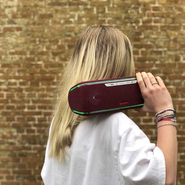 Met deze draagbare speakers van Sony heb je altijd een festival bij de hand