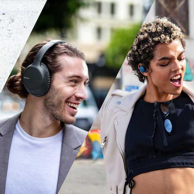 Sony komt met 3 nieuwe draadloze headphones