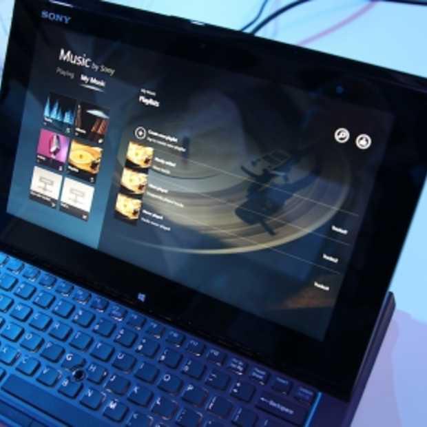 Sony ontwikkelt tablet voor mobiel  computeren : VAIO Duo 11