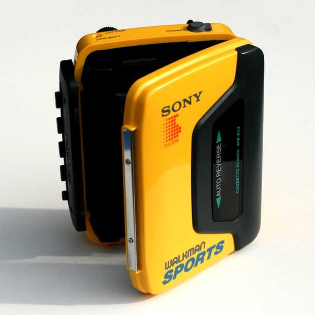 Sony Walkman Limited edition van een iconische muziekspeler