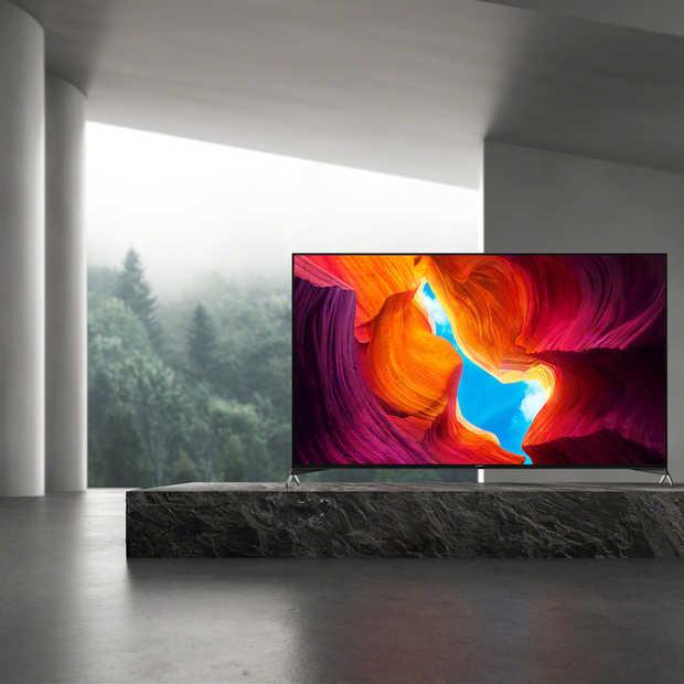 Sony's nieuwe XH95 tv is uitgerust met de nieuwste beeld- en geluidstechnologieën