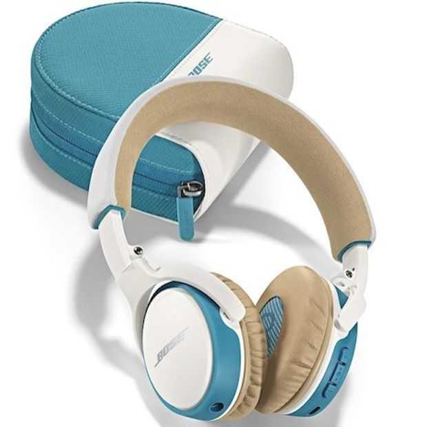 Op reis met de SoundLink on-ear Bluetooth headphone van Bose!