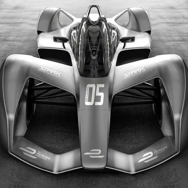 De nieuwe Spark SRT05e Formule E-auto komt rechtstreeks uit de toekomst