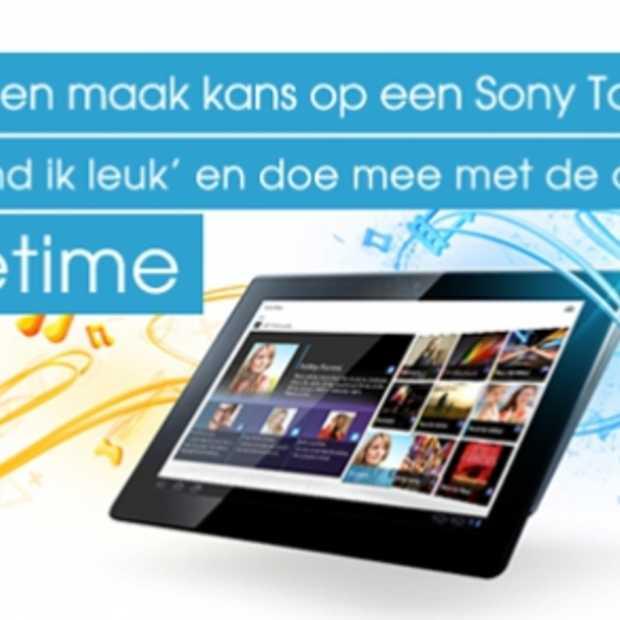 #Styletime Doe mee met de Like-actie op Facebook en maak kans op een Sony Tablet S