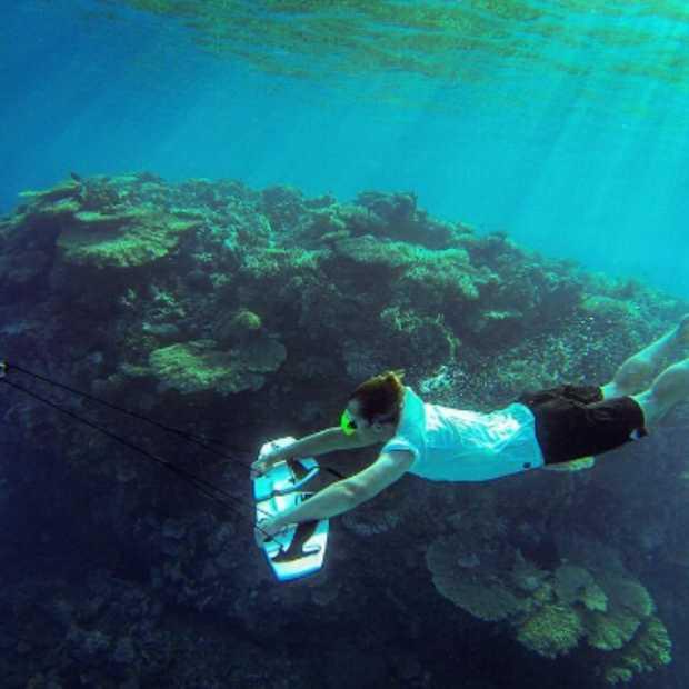 Cool: vliegen onder water met Subwing
