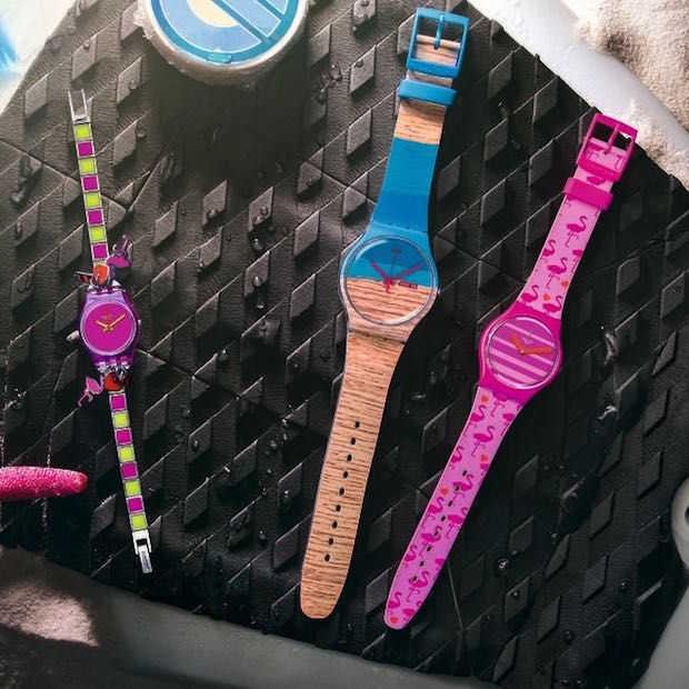 SWATCH lanceert vrolijke en zomerse horlogelijn