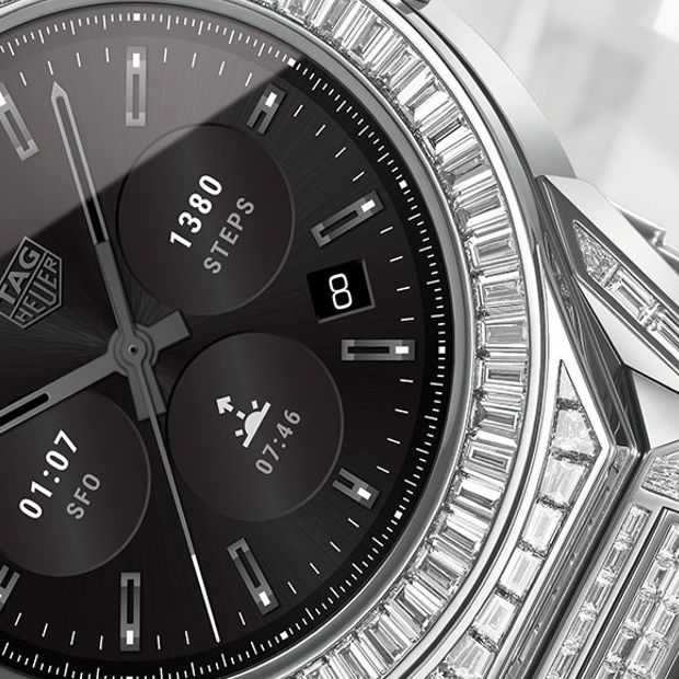 Beetje overdreven: Tag Heuer smartwatch van 160.000 euro