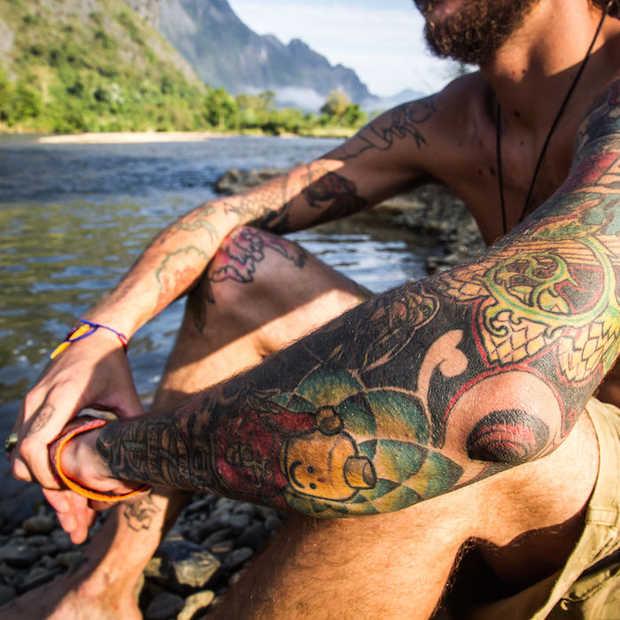 Dit zijn de meest pijnlijke plekken om een tattoo te laten zetten