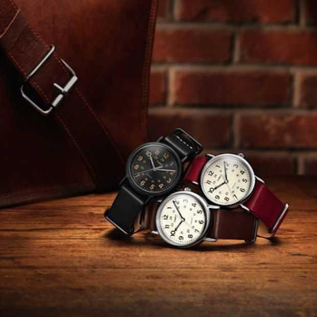 De nieuwe herfstcollectie van Timex Weekender: zeven straps – één seizoen