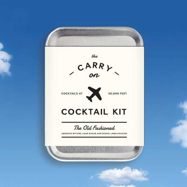Reizen met klasse met de Carry On Cocktail Kit
