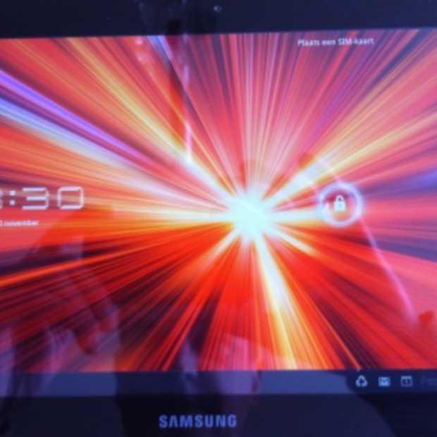 Uitpak foto's: Samsung Galaxy Tab 8.9