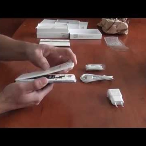 Unboxing Samsung Galaxy Note 2 for #becreativenl