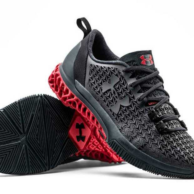 3D-geprinte schoen van Under Armour