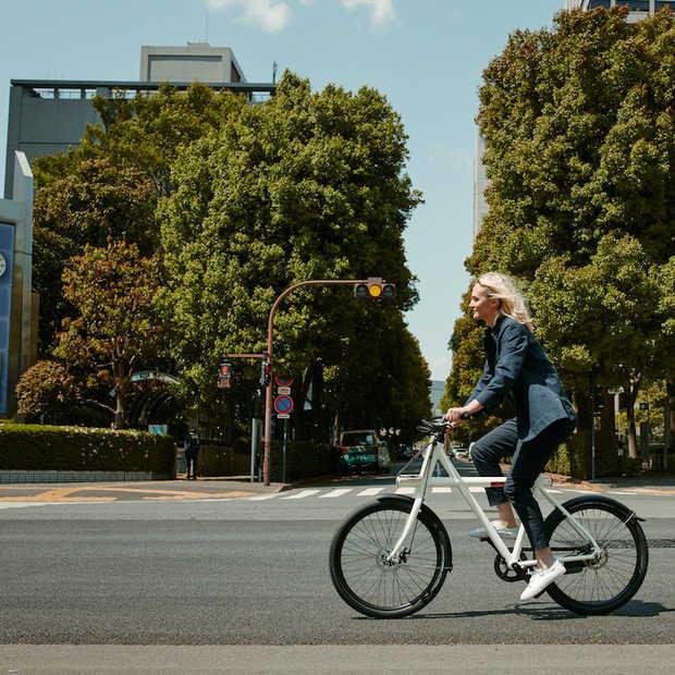 VanMoof verkoopt online meer e-bikes sinds uitbraak coronavirus
