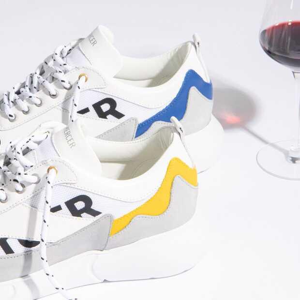 Deze vegan sneakers zijn gemaakt van wijnresten