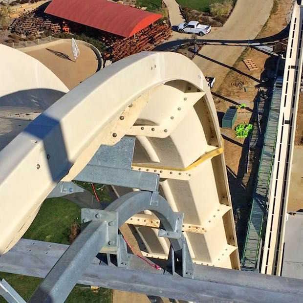 's Werelds hoogste waterglijbaan staat in Kansas City