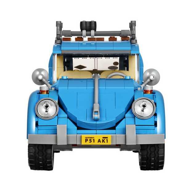 Cool: miniatuur Volkswagen Beetle van LEGO