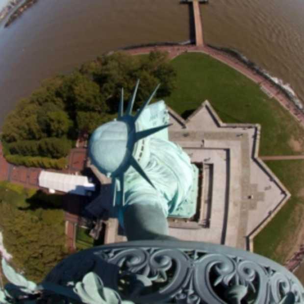 Vrijheidsbeeld krijgt 5 webcams
