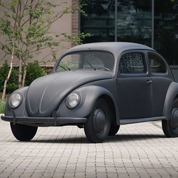 Iconische Beetle in een matzwart jasje